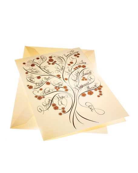 "Eight ""Tree of Life"" Holiday Cards"