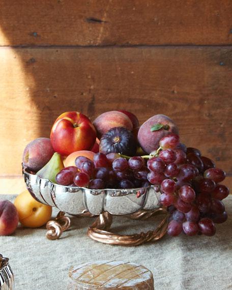 Gourd & Vine Pedestal Platter