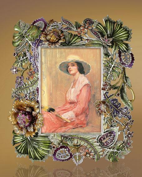 """""""Palm & Floral"""" Frame"""