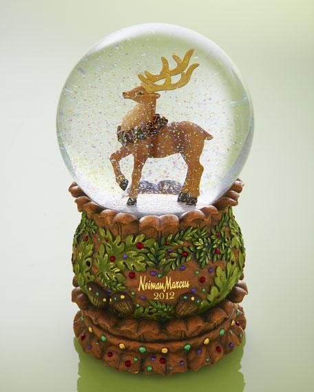 reindeer musical snow globe - Christmas Musical Snow Globes