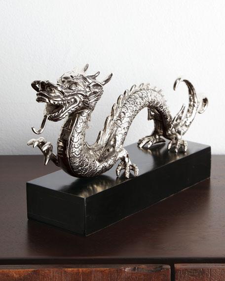 Sitting Dragon Figure
