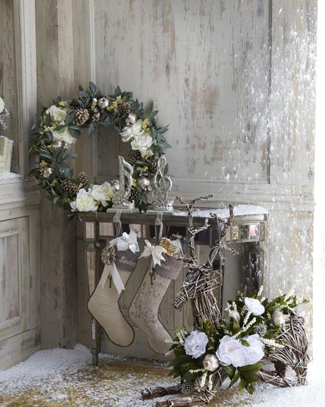 """Joyeux Noel"" Christmas Garland"