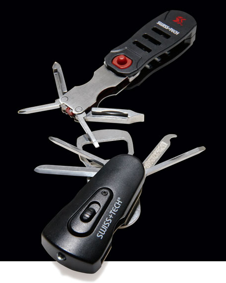 6-in-1 Transformer Tool Keychain & 8-in-1 Swivel Tool Set
