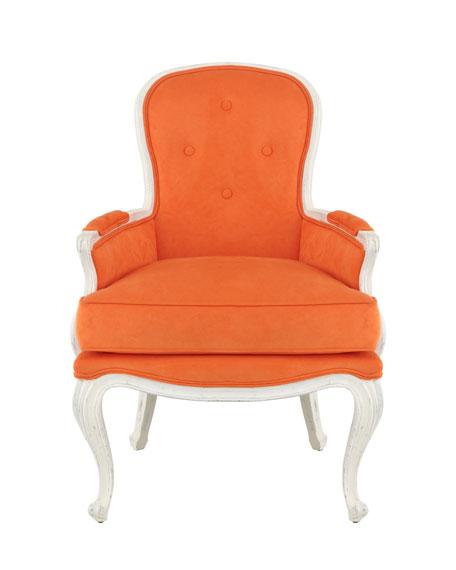 """Breena"" Pompadour Armchair"