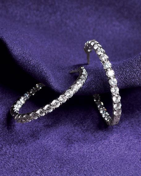 Diamond Hoop Earrings, 5.50 TCW