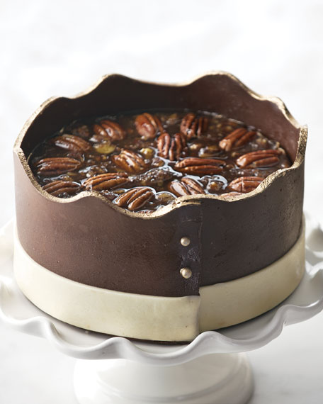 Pecan Chocolate Cheesecake