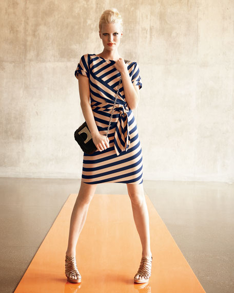 Leron Striped Dress