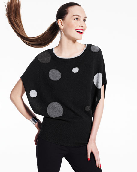 Dot Cashmere Pullover