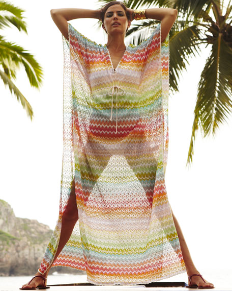 Carnac Long Zigzag Coverup