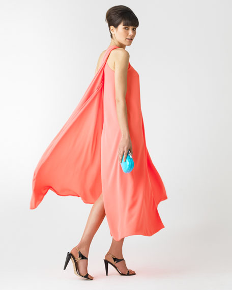 Liluye One-Shoulder Maxi Dress