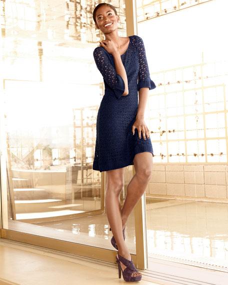 Shauna Crochet Dress
