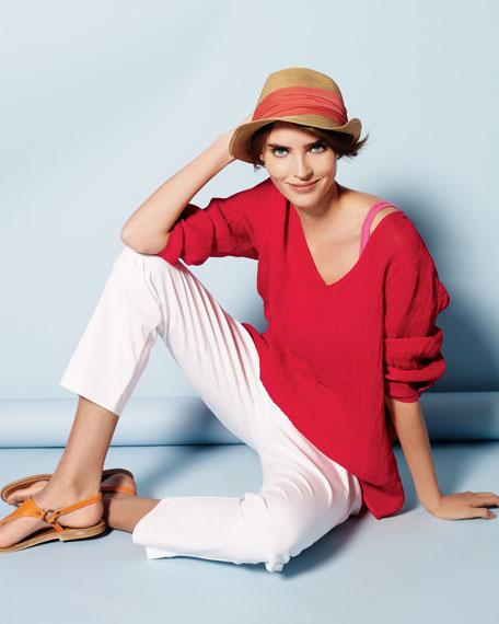 Linen Gauze Tunic, Women's