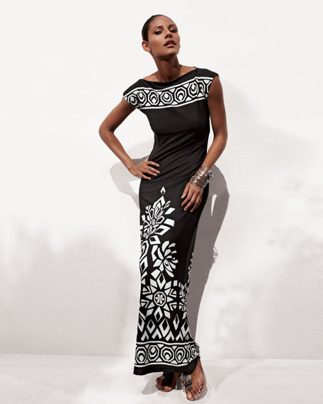 Luxe Jersey Maxi Dress