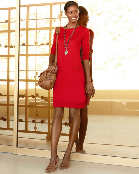 Two-Pocket Pima Dress