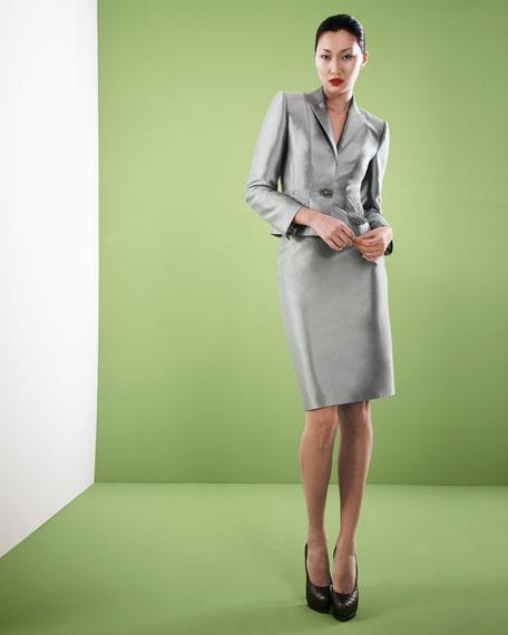 Satin Suit