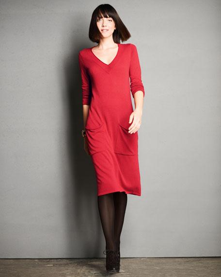Soft Luxury Two-Pocket Dress, Women's