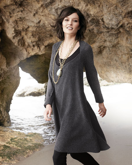 Oversized Wool Dress