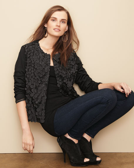 Sleek-Style Petal Jacket, Women's