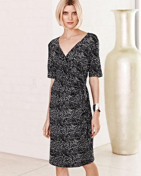 Side-Tie Print Dress