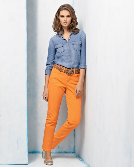Isabel Twill Ankle Gab 72 Pants