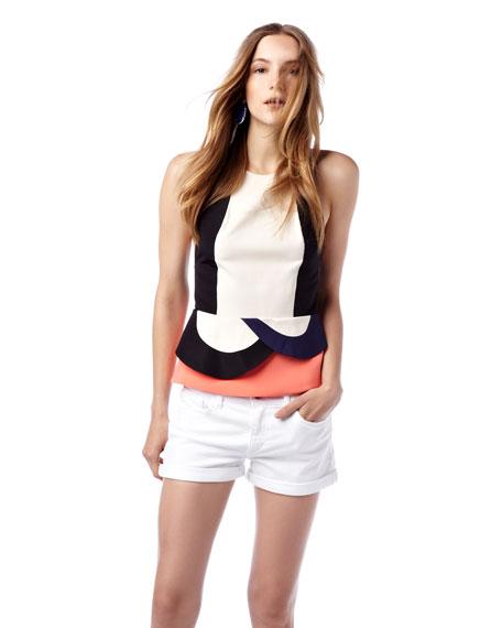 Bonnie Rolled Denim Shorts