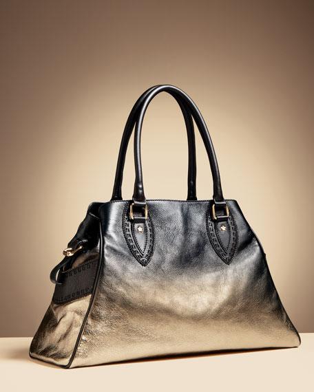 Metallic Degrade Bag Du Jour, Medium