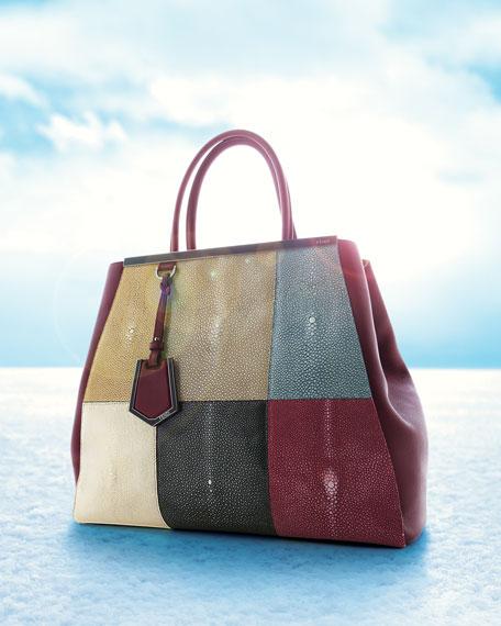 Fendi 2Jours Stingray Tote Bag, Large