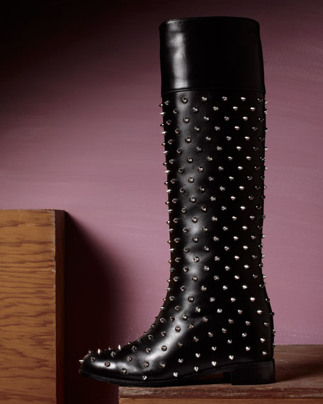 Spiked Boot