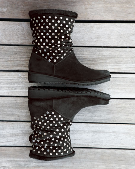 Zozomay Studded Boot