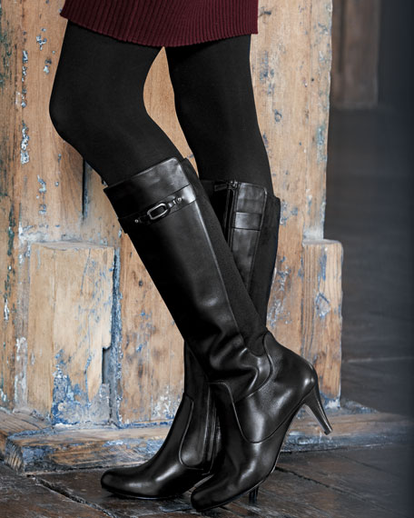 Lana Leather Knee Boot