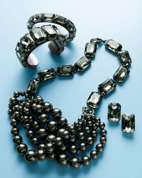Big-Stone Cuff Bracelet