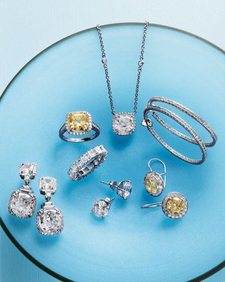 Princess-Cut Cubic Zirconia Ring