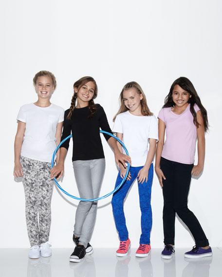 Glitter Power Stretch Jeans