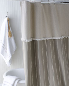 French Laundry Home French Stripe Shower Curtain