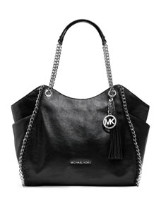 michael michael kors chelsea large shoulder tote bag. Black Bedroom Furniture Sets. Home Design Ideas
