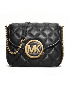 michael michael kors fulton quilted crossbody. Black Bedroom Furniture Sets. Home Design Ideas