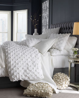 """Puckered Diamond"" Bed Linens"