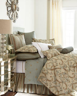 "Jane Wilner Designs ""Siena Scroll"" Bed Linens"