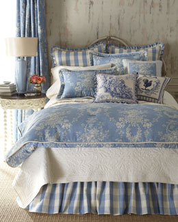 """Country Manor"" Bed Linens"