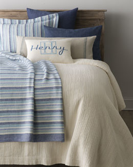 "Pine Cone Hill ""Bluemarine"" Bed Linens"