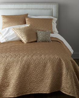 "Dian Austin Couture Home ""Precious Metal"" Bed Linens"