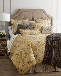 "Traditions Linens ""Hayden"" Toile Bed Linens"