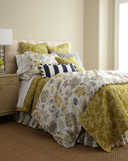 "French Laundry Home ""Adelaide"" Bed Linens"
