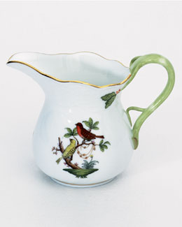 Herend Rothschild Bird Creamer & Sugar