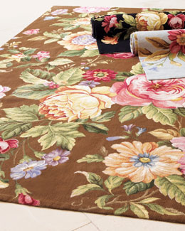 Waterfall Rose Rug