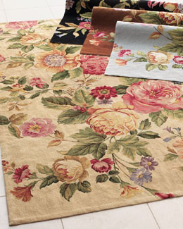 """Waterfall Rose"" Rug"