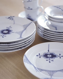 Royal Copenhagen Blue Fluted Mega Dinnerware