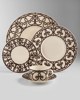 J.L. Coquet Paris Metal Dinnerware