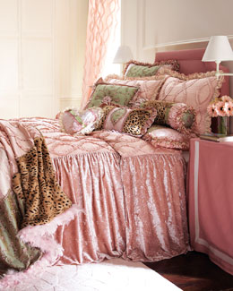 "Dian Austin Couture Home ""Sweet & Sassy"" Bed Linens, King"
