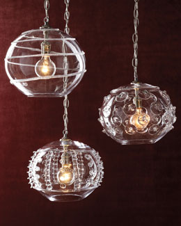 Juliska Globe Pendant Lights